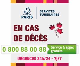 Services funéraires - Ville de Paris